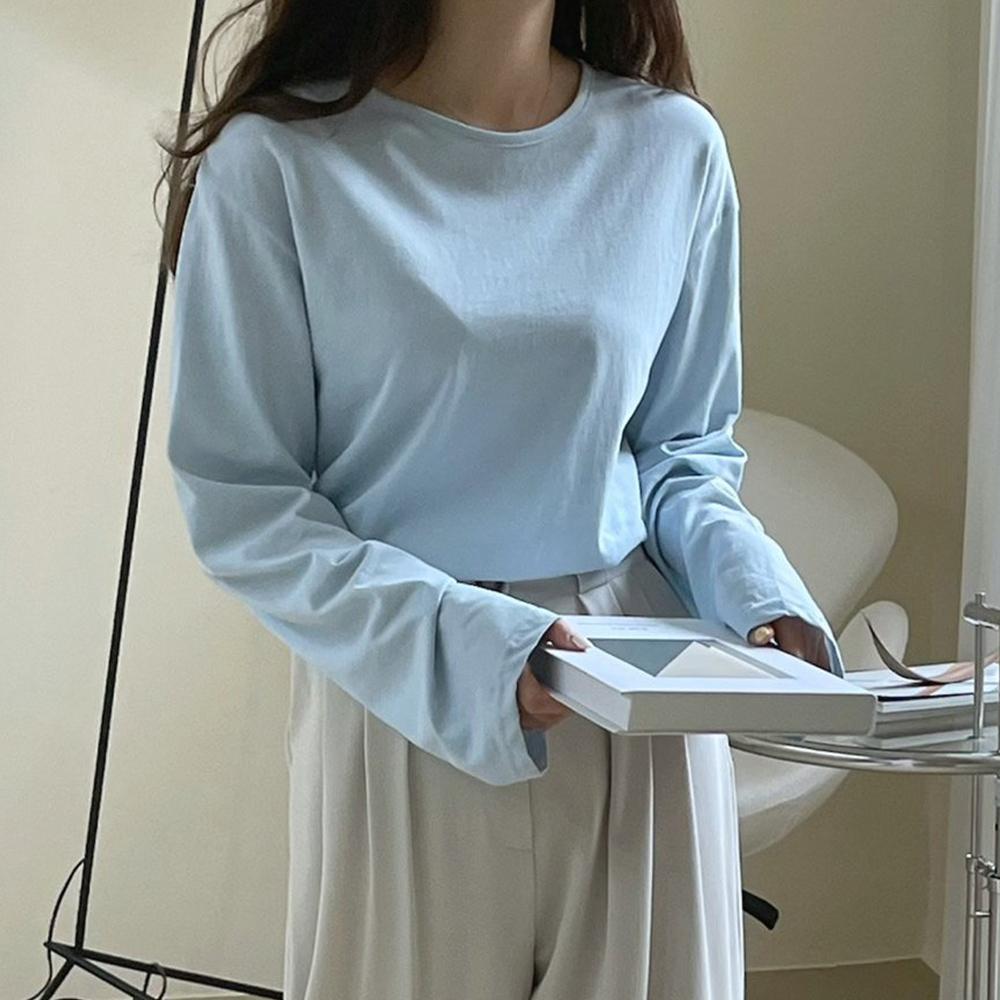 비비드 베이직 데일리 티셔츠 [무배.6color]